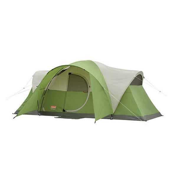 Coleman Montana 8 Tent 16x7 Foot Green/Tan/Grey 2000013418