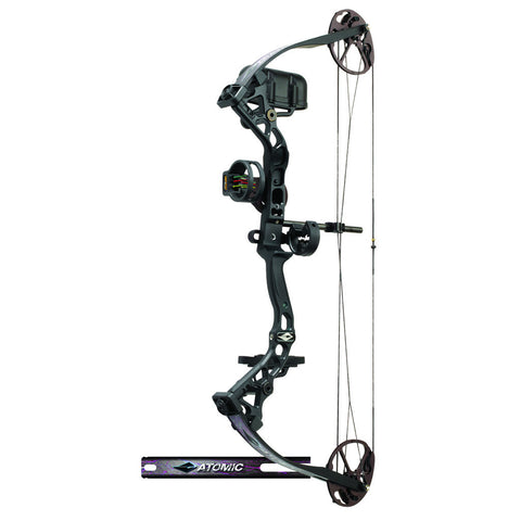 Diamond Atomic Bow Package Black/Pink 12-24 in. 29 lb. RH