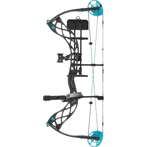 Diamond Carbon Knockout Bow Package Carbon Fiber 50 lb. LH