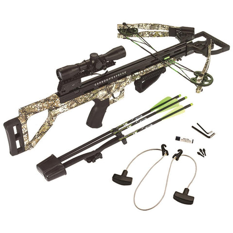 Carbon Express Covert Tyrant Crossbow Pkg.