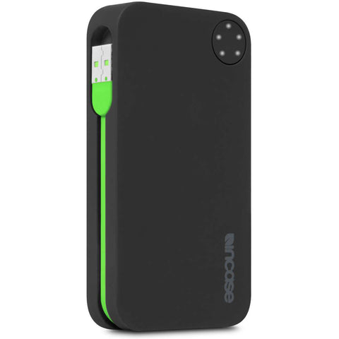 Incase Portable Power 5400 Battery Pack (iPhone 5, 5s, 6, & 6 Plus, iPad and iPod Compatible) Black/Green