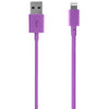Incase Sync and Charge Cable 6 in. Lightning (iPhone 5, 5s, 6, & 6 Plus, iPad and iPod Compatible) Electric Purple