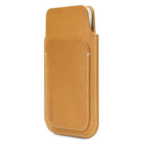 Incase Leather Pouch For iPhone 5s & 5c - Brown/Tan Phone Case