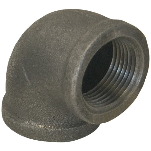 "78231 90deg Black Malleable Elbow (3/8"")"