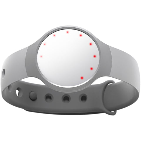 Misfit Wearables Flash Activity/Fitness Tracker and Sleep Monitor in Frost w/ Clasp Band