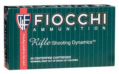 Fiocchi Ammunition Rifle, 308WIN, 150 Grain, Full Metal Jacket Boat Tail, 20 Round Box 308A