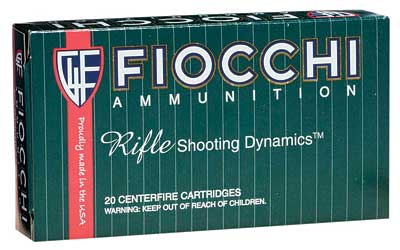 Fiocchi Ammunition Rifle, 308WIN, 150 Grain, Pointed Soft Point, 20 Round Box 308B