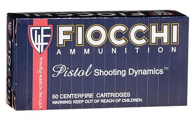 Fiocchi Ammunition Centerfire Pistol, 32ACP, 73 Grain, Full Metal Jacket, 50 Round Box 32AP