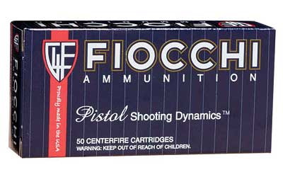 Fiocchi Ammunition Centerfire Pistol, 9MM, 158 Grain, Full Metal Jacket, Subsonic, 50 Round Box 9APE