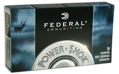 Federal PowerShok, 243 Win, 85 Grain, Copper, Lead Free, 20 Round Box 24385LFA
