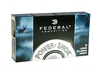 Federal PowerShok, 25-06REM, 117 Grain, Sierra, 20 Round Box 2506BS
