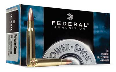 Federal PowerShok, 280REM, 150 Grain, Soft Point, 20 Round Box 280B