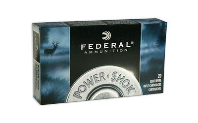 Federal PowerShok, 30-06, 150 Grain, Copper, Lead Free, 20 Round Box 3006150LFA