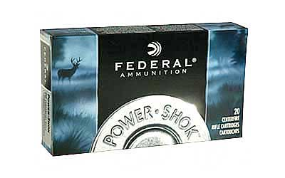 Federal PowerShok, 30-30, 150 Grain, Soft Point Flat Nose, 20 Round Box 3030A