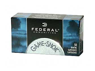 Federal GameShok, 22LR, 40 Grain, Solid, 50 Round Box 710