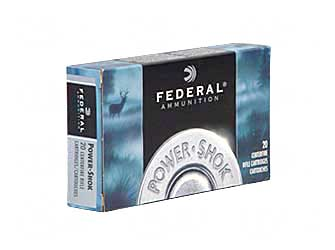 Federal PowerShok, 7x57, 175 Grain, Soft Point, Round Nose, 20 Round Box 7A