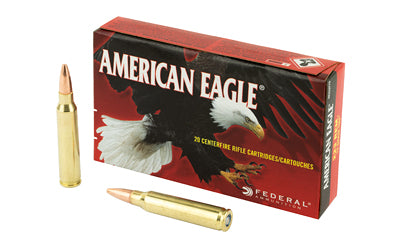 Federal American Eagle, 223 Rem, 75Gr Total Metal Jacket, 20 Round Box AE223T75