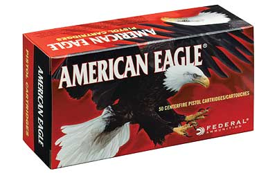 Federal American Eagle, 38 Special, 130 Grain, Full Metal Jacket, 50 Round Box AE38K