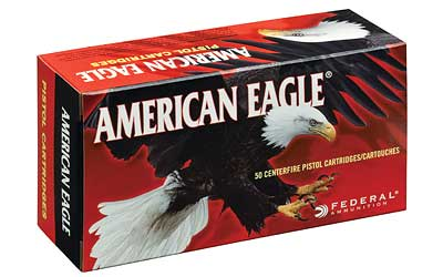Federal American Eagle, 44MAG, 240 Grain, Jacketed Hollow Point, 50 Round Box AE44A