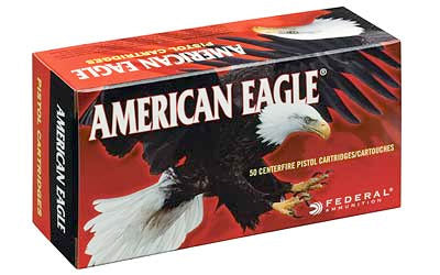 Federal American Eagle, 5.7x28mm, 40 Grain, Total Metal Jacket, 50 Round Box AE5728A