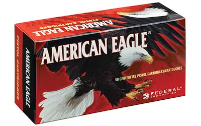 Federal American Eagle, 9MM, 147 Grain, Full Metal Jacket, 50 Round Box AE9FP