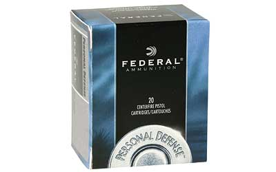 Federal Personal Defense, 32H&R, 85 Grain, Jacketed Hollow Point, 20 Round Box C32HRB
