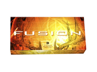 Federal Fusion, 338 WIN MAG, 225 Grain, Boat Tail, 20 Round Box F338FS1