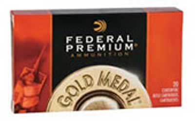 Federal Gold Medal, 300 WIN MAG, 190 Grain, Boat Tail, Hollow Point, 20 Round Box GM300WM