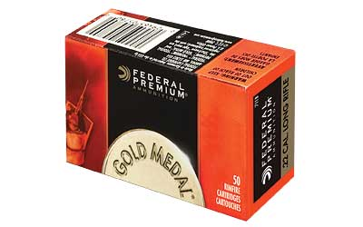 Federal Gold Medal, 22LR, 40 Grain, Target, Lead 711B