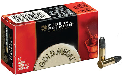 Federal Gold Medal, 22LR, 40 Grain, Solid, 50 Round Box 719