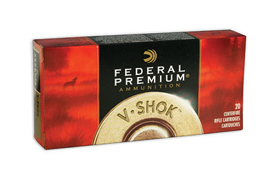Federal TNT Green, 22-250, 43 Grain, Hollow Point, Lead Free, 20 Round Box P22250D