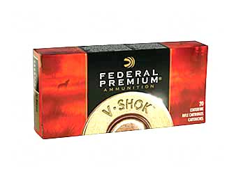 Federal Vital-Shok, 25-06REM, 117 Grain, Boat Tail, Soft Point, 20 Round Box P2506C