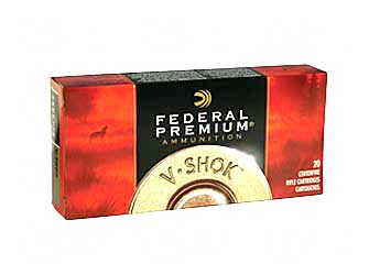Federal Vital-Shok, 30-06, 150 Grain, Sierra GameKing Boat Tail Soft Point, 20 Round Box P3006G