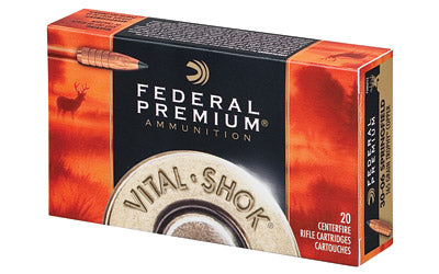 Federal Vital-Shok, 30-06, 165 Grain, Trophy Copper, Lead Free, 20 Round Box P3006TC2