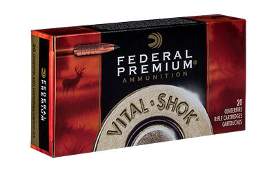 Federal Vital-Shok, 6.5 CREEDMOOR, 120 Grain, Trophy Copper, Lead Free, 20 Round Box P65CRDTC1