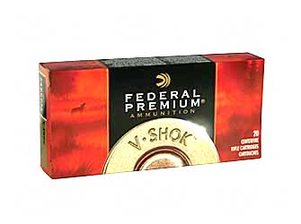 Federal Vital-Shok, 7MM-08, 140 Grain, Nosler Partition, 20 Round Box P708A