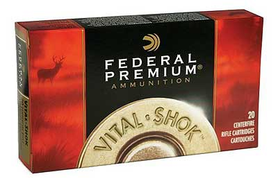 Federal Vital-Shok, 7MM REM, 160 Grain, Bonded, Hollow Point, 20 Round Box P7RTT1