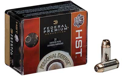 Federal Premium, 9MM, 124 Grain, Jacketed Hollow Point, 20 Round Box P9HST1S