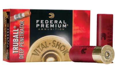 "Federal Premium, 12 Gauge, 2.75"", 1oz, TruBall, 5 Round Box PB127RS"