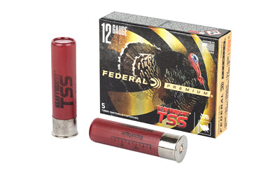 "Federal Heavyweight TSS with Flightcontrol Flex, 12 Gauge, 3.5"", #9 Shot, 2 1/4oz, 5 Round Box PTSSX191F 9"