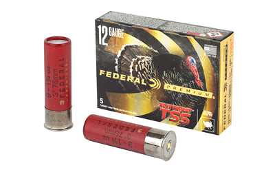 "Federal Heavyweight TSS with Flightcontrol Flex, 12 Gauge 3"", #9 Shot, 1 3/4oz, TSS, 5 Round Box PTSSX193F 9"