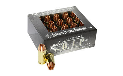 G2 Research RIP, 40 S&W, 115 Grain, Lead Free Copper, 20 Round Box 00030