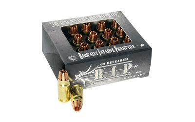 G2 Research RIP, 357 Sig, 92 Grain, Lead Free Copper, 20 Round Box 00078