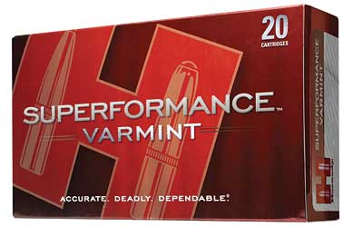 Hornady Superformance, 243WIN, 95 Grain, SST, 20 Round Box 80463