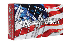 Hornady American Whitetail, 270Win, 130 Grain, Interlock Boat Tail Soft Point, 20 Round Box 8053