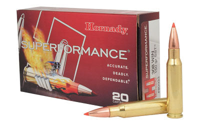 Hornady Superformance 308WIN, 150 Grain, SST, 20 Round Box 80933