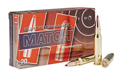 Hornady Superformance Match, 308 Win, 168 Grain, ELD Match, 20 Round Box 80963