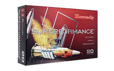 Hornady SuperFormance, 308WIN, 165 Grain, SST, 20 Round Box 80983