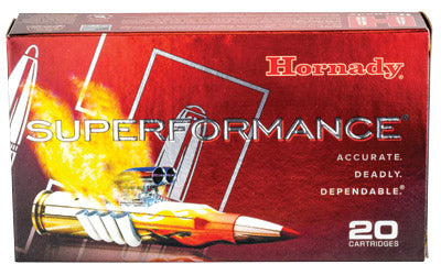 Hornady SuperFormance, 308WIN, 165 Grain, GMX, Lead Free, 20 Round Box 8099