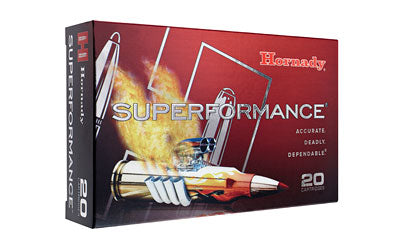Hornady Superformance Ammunition, 30-06, 150 Grain, SST, 20 Round Box 81093